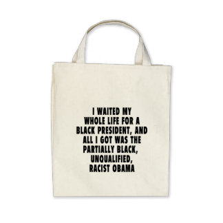 I waited my whole life for a black president tote bag