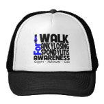 I Walk For Ankylosing Spondylitis Awareness Trucker Hat