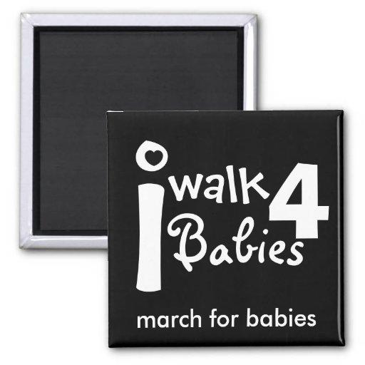 i walk for babies Magnet
