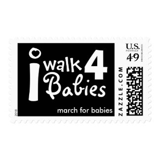 i walk for babies Postage