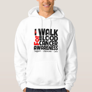 I Walk For Blood Cancer Awareness Pullover