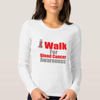 I Walk For Blood Cancer Awareness T Shirts