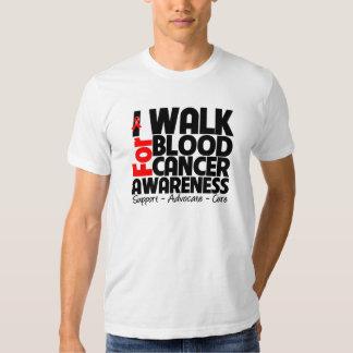 I Walk For Blood Cancer Awareness Tees
