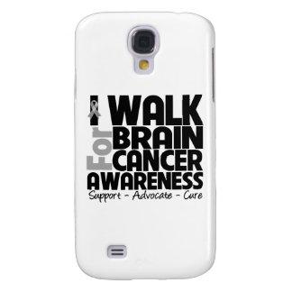 I Walk For Brain Cancer Awareness Samsung Galaxy S4 Case