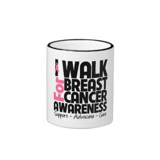 I Walk For Breast Cancer Awareness Mug