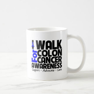 I Walk For Colon Cancer Awareness Coffee Mug