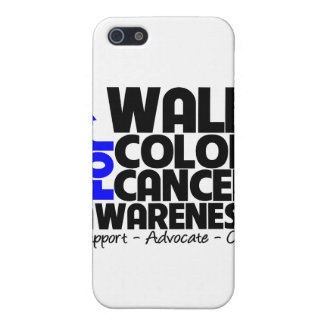 I Walk For Colon Cancer Awareness iPhone 5 Covers
