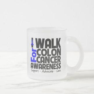 I Walk For Colon Cancer Awareness Mugs