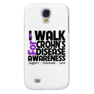 I Walk For Crohn's Disease Awareness Galaxy S4 Case