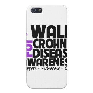 I Walk For Crohn's Disease Awareness Case For iPhone 5