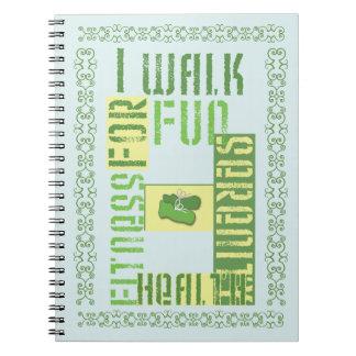 I Walk for Fun... Notebooks