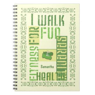 I Walk for Fun... Spiral Note Book