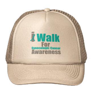 I Walk For Gynecologic Cancer Awareness Trucker Hat