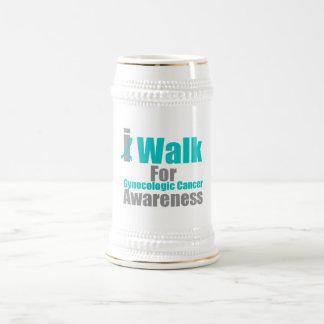 I Walk For Gynecologic Cancer Awareness Mug