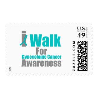 I Walk For Gynecologic Cancer Awareness Stamps