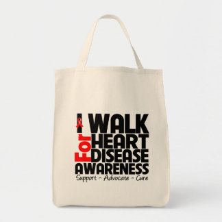 I Walk For Heart Disease Awareness Bags