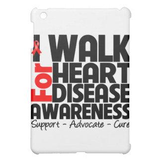 I Walk For Heart Disease Awareness iPad Mini Cases