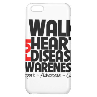 I Walk For Heart Disease Awareness Cover For iPhone 5C