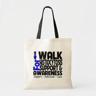 I Walk For Histiocytosis Awareness Canvas Bag