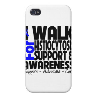 I Walk For Histiocytosis Awareness iPhone 4 Cases