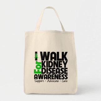 I Walk For Kidney Disease Awareness Bags