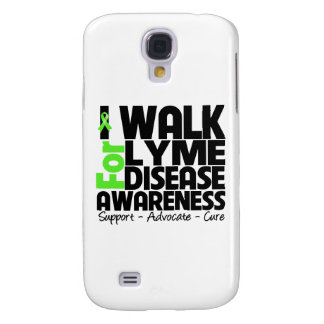 I Walk For Lyme Disease Awareness Samsung Galaxy S4 Cases