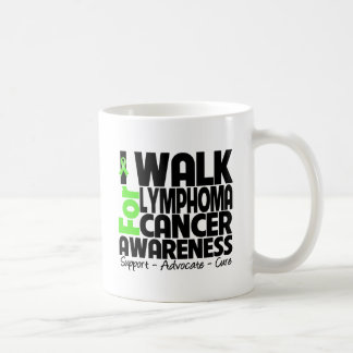 I Walk For Lymphoma Cancer Awareness Mugs