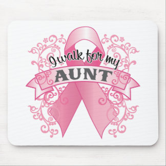 I Walk For My Aunt Mouse Pad