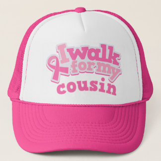 I Walk For My Cousin Trucker Hat