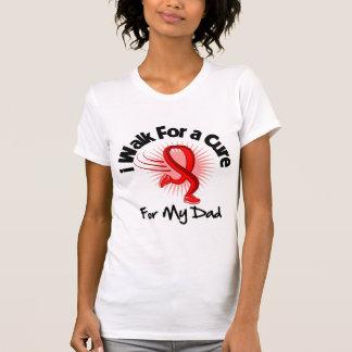 I Walk For My Dad- Heart Disease Tee Shirt