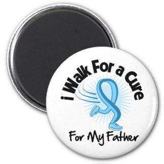 I Walk For My Father - Prostate Cancer Fridge Magnet