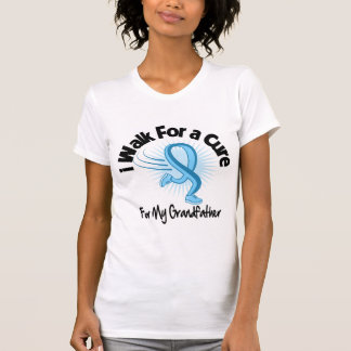I Walk For My Grandfather - Prostate Cancer T-shirt