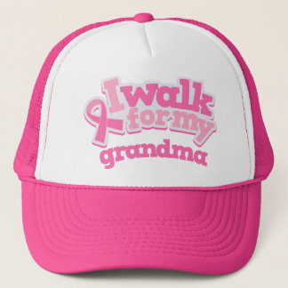 I Walk For My Grandma Trucker Hat