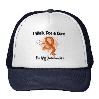 I Walk For My Grandmother - Leukemia Trucker Hat