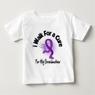 I Walk For My Grandmother - Purple Ribbon Tshirts