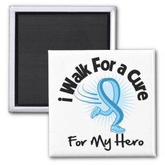 I Walk For My Hero - Prostate Cancer Fridge Magnets