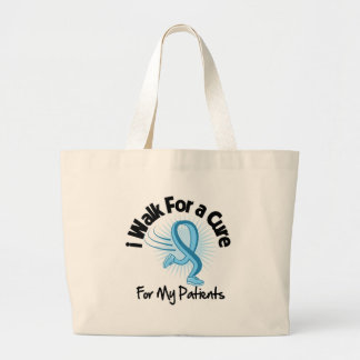 I Walk For My Patients - Prostate Cancer Jumbo Tote Bag