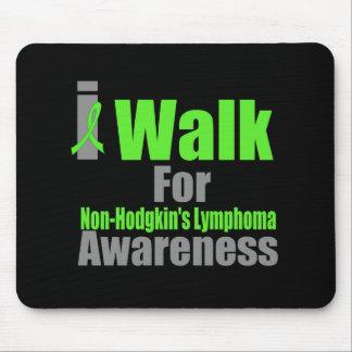 I Walk For Non-Hodgkin's Lymphoma Awareness Mouse Pad