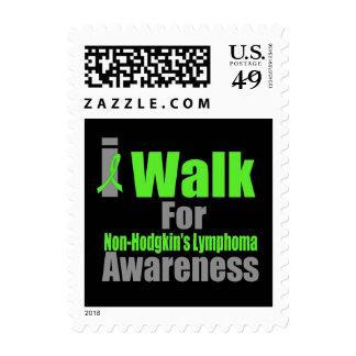 I Walk For Non-Hodgkin's Lymphoma Awareness Stamps