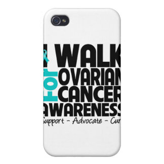 I Walk For Ovarian Cancer Awareness iPhone 4/4S Cover