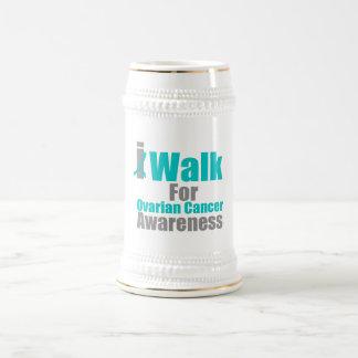 I Walk For Ovarian Cancer Awareness Coffee Mug