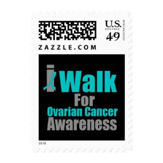 I Walk For Ovarian Cancer Awareness Postage Stamps