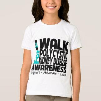 I Walk For Polycystic Kidney Disease Awareness T-Shirt
