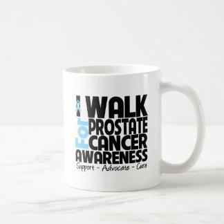 I Walk For Prostate Cancer Awareness Mugs