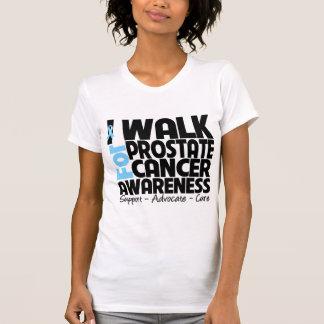 I Walk For Prostate Cancer Awareness T Shirt