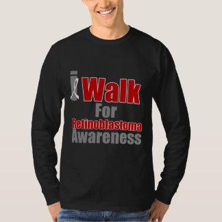 I Walk For Retinoblastoma Awareness T Shirts