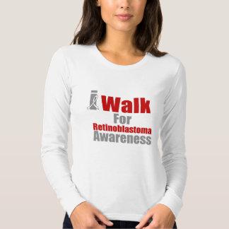 I Walk For Retinoblastoma Awareness Tee Shirt
