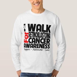 I Walk For Retinoblastoma Cancer Awareness T-shirt