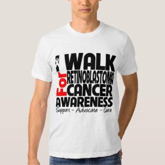 I Walk For Retinoblastoma Cancer Awareness T Shirts