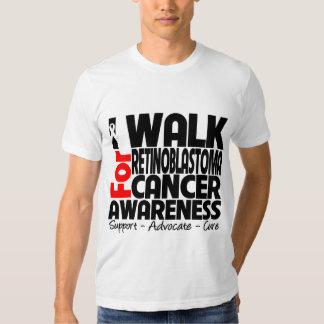 I Walk For Retinoblastoma Cancer Awareness T-shirts